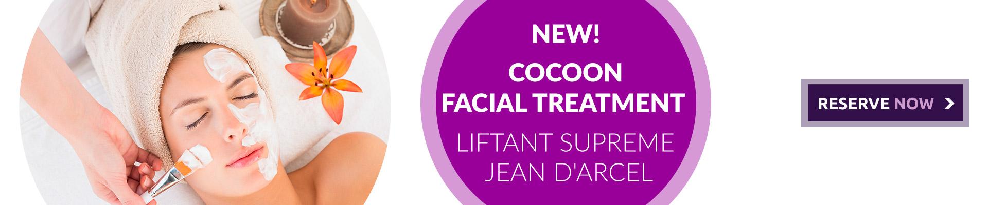COCOON FACIAL TREATMENT Liftant supreme – Jean D'Arcel