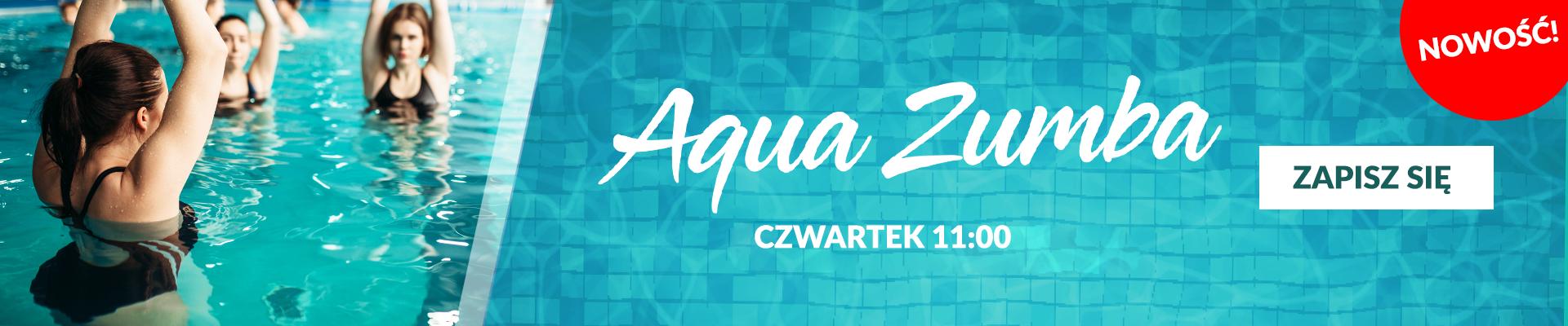 Aqua zumba – nowość!