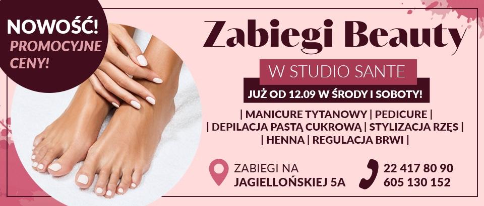 Strefa beauty Studio Sante