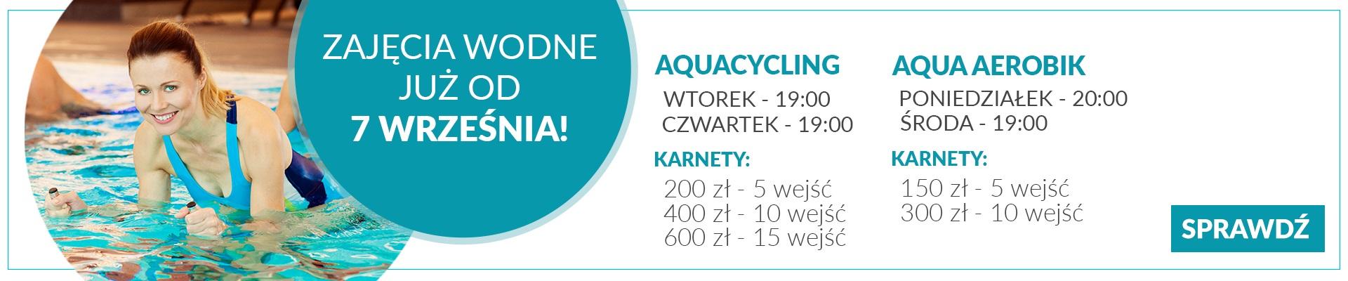 aquacycling start zapisów