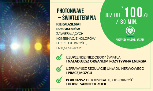 Photon Wave – Światłoterapia